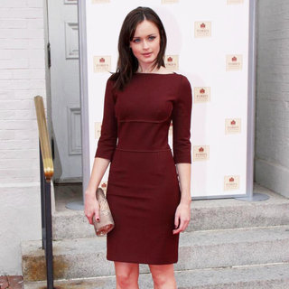 "Alexis Bledel in World Premiere of The ""The Conspirator"" - Arrivals"