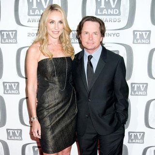 Tracy Pollan, Michael J. Fox in The 9th Annual TV Land Awards
