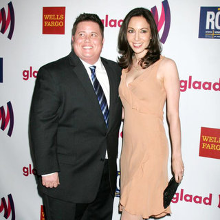 Chaz Bono, Jennifer Elia in 22nd Annual GLAAD Media Awards