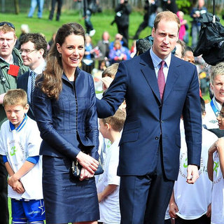 Kate Middleton, Prince William in Prince William and Kate Middleton Visit Witton Country Park