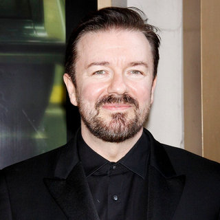 "Ricky Gervais in Opening Night of The Broadway Production of ""The Motherf**ker with The Hat' - Arrivals"