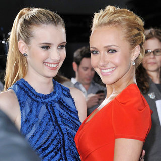 Emma Roberts, Hayden Panettiere in World Premiere of 'Scream 4' - Arrivals
