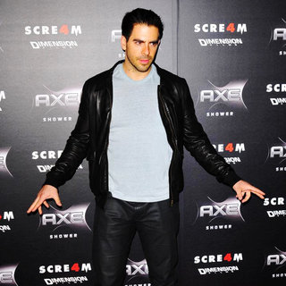 Eli Roth in World Premiere of 'Scream 4' - Arrivals
