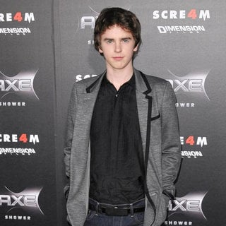 Freddie Highmore in World Premiere of 'Scream 4' - Arrivals