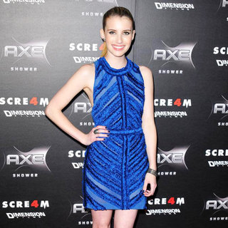 Emma Roberts in World Premiere of 'Scream 4' - Arrivals