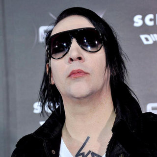Marilyn Manson in World Premiere of 'Scream 4' - Arrivals