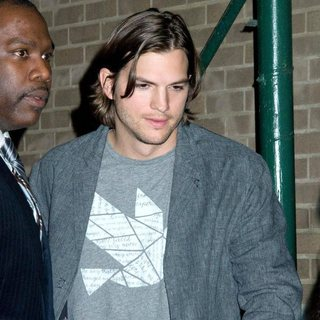 Ashton Kutcher in The DNA Foundation Launch Interactive Online Campaign 'Real Men Don't Buy Girls Launch Party'