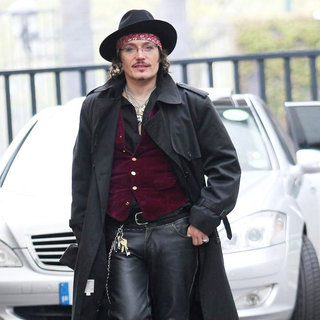 Adam Ant in Adam Ant at The ITV Studos
