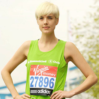 Agyness Deyn in The London Marathon - Photocall