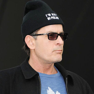 Charlie Sheen Addresses His Supporters at Massey Hall After The BiPolar Awareness Walk - wenn3297189