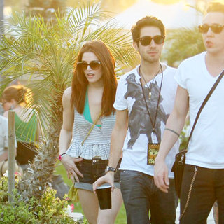 Ashley Greene in Celebrities at The 2011 Coachella Valley Music and Arts Festival - Day 1