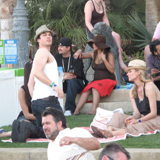 Ian Somerhalder, Diane Kruger in Celebrities at The 2011 Coachella Valley Music and Arts Festival - Day 2