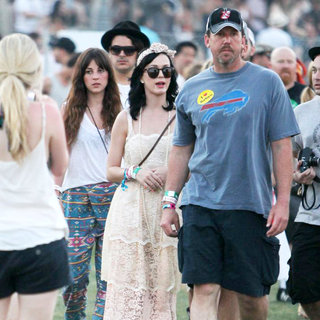 Katy Perry in Celebrities at The 2011 Coachella Valley Music and Arts Festival - Day 2
