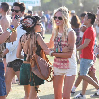 Kate Bosworth in Celebrities at The 2011 Coachella Valley Music and Arts Festival - Day 2