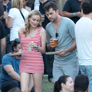 Diane Kruger, Joshua Jackson in Celebrities at The 2011 Coachella Valley Music and Arts Festival - Day 3
