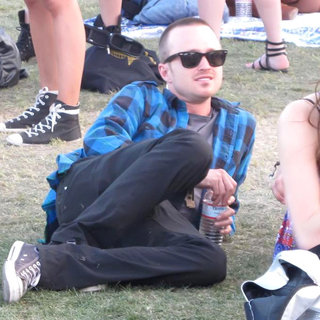 Aaron Paul in Celebrities at The 2011 Coachella Valley Music and Arts Festival - Day 3