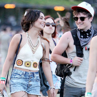 Vanessa Hudgens, Josh Hutcherson in Celebrities at The 2011 Coachella Valley Music and Arts Festival - Day 3