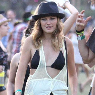 Malin Akerman in Celebrities at The 2011 Coachella Valley Music and Arts Festival - Day 3