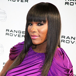 Serena Williams in The NYC Launch of The 2012 Range Rover Evoque