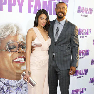 Tania Dawn, Isaiah Mustafa in Los Angeles Premiere of Tyler Perry's 'Madea's Big Happy Family'