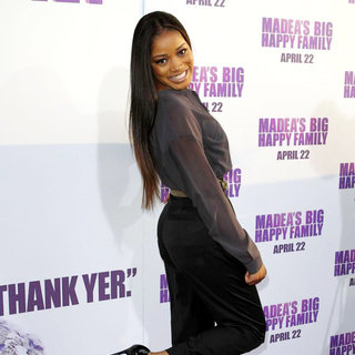 Keke Palmer in Los Angeles Premiere of Tyler Perry's 'Madea's Big Happy Family'