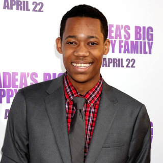 Tyler James Williams in Los Angeles Premiere of Tyler Perry's 'Madea's Big Happy Family'