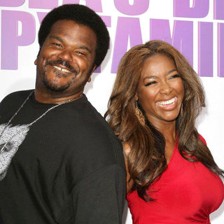 Craig Robinson, Kenya Moore in Los Angeles Premiere of Tyler Perry's 'Madea's Big Happy Family'
