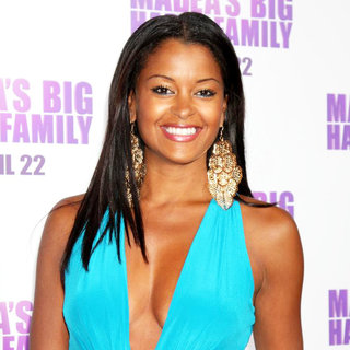 Claudia Jordan in Los Angeles Premiere of Tyler Perry's 'Madea's Big Happy Family'