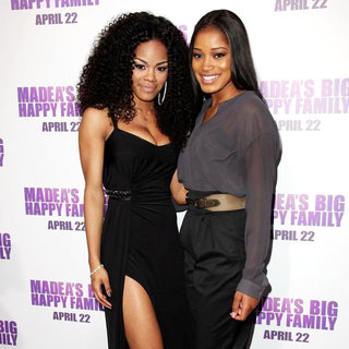 Teyana Taylor, Keke Palmer in Los Angeles Premiere of Tyler Perry's 'Madea's Big Happy Family'