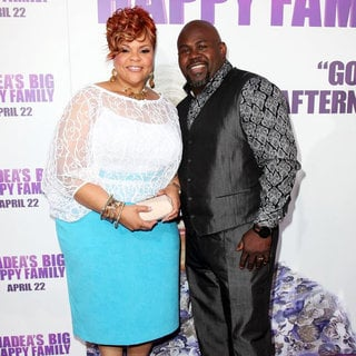 Tamela Mann, David Mann in Los Angeles Premiere of Tyler Perry's 'Madea's Big Happy Family'
