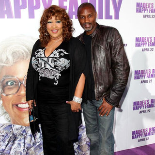 Kym Whitley, Rodney Van Johnson in Los Angeles Premiere of Tyler Perry's 'Madea's Big Happy Family'