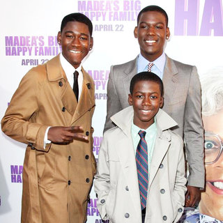 Kwame Boateng, Kofi Siriboe, Kwesi Boakye in Los Angeles Premiere of Tyler Perry's 'Madea's Big Happy Family'