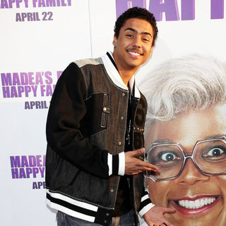 Quincy Brown in Los Angeles Premiere of Tyler Perry's 'Madea's Big Happy Family'