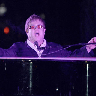 Elton John in 2011 Tribeca Film Festival Opening Night Premiere of 'The Union'