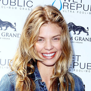 AnnaLynne McCord Spends The Day at Wet Republic