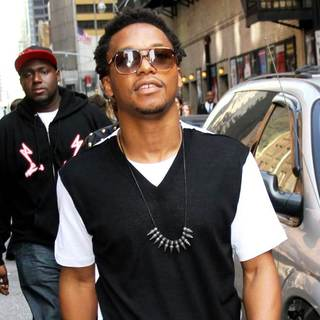Lupe Fiasco in 'The Late Show with David Letterman' at The Ed Sullivan Theater - Arrivals - wenn3309548