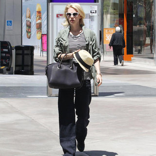January Jones in January Jones Shopping at Westfield