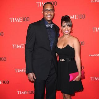 Carmelo Anthony, La La Vazquez in TIME'S 100 Most Influential People in The World