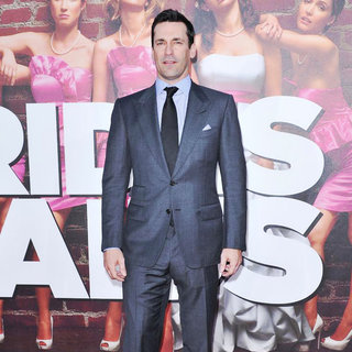 Jon Hamm in The Premiere of 'Bridesmaids'