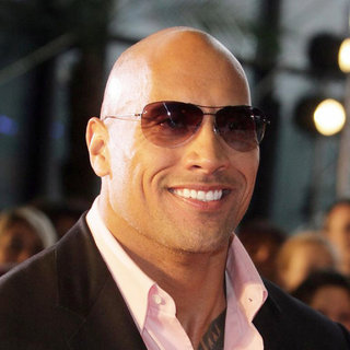 "The Rock in The French Premiere of ""Fast Five"""