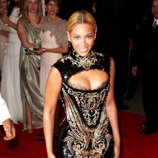 Beyonce Knowles in Alexander McQueen: Savage Beauty Costume Institute Gala