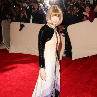 Anna Wintour in Alexander McQueen: Savage Beauty Costume Institute Gala