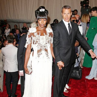 Naomi Campbell, Vladislav Doronin in Alexander McQueen: Savage Beauty Costume Institute Gala