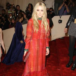 Mary-Kate Olsen in Alexander McQueen: Savage Beauty Costume Institute Gala