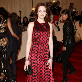 Kristen Stewart in Alexander McQueen: Savage Beauty Costume Institute Gala
