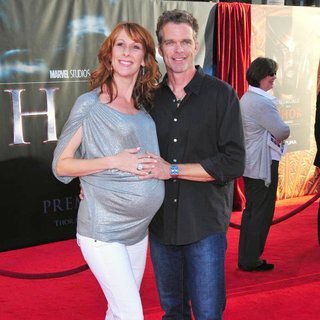 "Wendy Braun, Joshua Cox in Los Angeles Premiere of ""Thor"" - Arrivals"