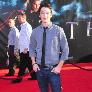 "Miles Teller in Los Angeles Premiere of ""Thor"" - Arrivals"