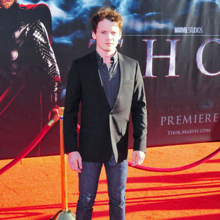 "Anton Yelchin in Los Angeles Premiere of ""Thor"" - Arrivals"