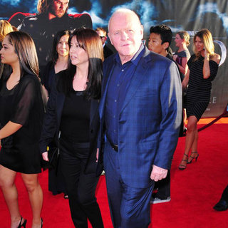 "Stella Arroyave, Anthony Hopkins in Los Angeles Premiere of ""Thor"" - Arrivals"
