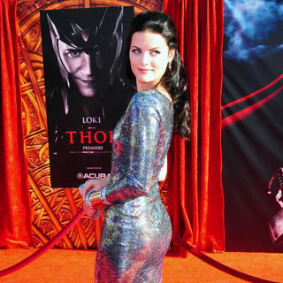 "Jaimie Alexander in Los Angeles Premiere of ""Thor"" - Arrivals"